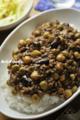 挽肉と豆のカレー_120321