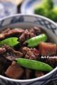 牛肉とコンニャクの甘辛煮_120506