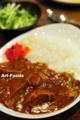 もぐもぐ亭ランチ「豚の角煮カレー」_120515-1