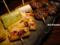 ネギと椎茸の串焼@じゃむ_121202