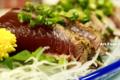 藁焼鰹のタタキ_130830