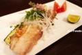 太刀魚と茄子のグリル・バターソース_140118