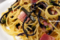 紅菜苔のパスタ_140205