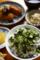 茹でシラスと御殿場水かけ菜の丼_140215