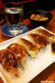 餃子でコップ酒_140411