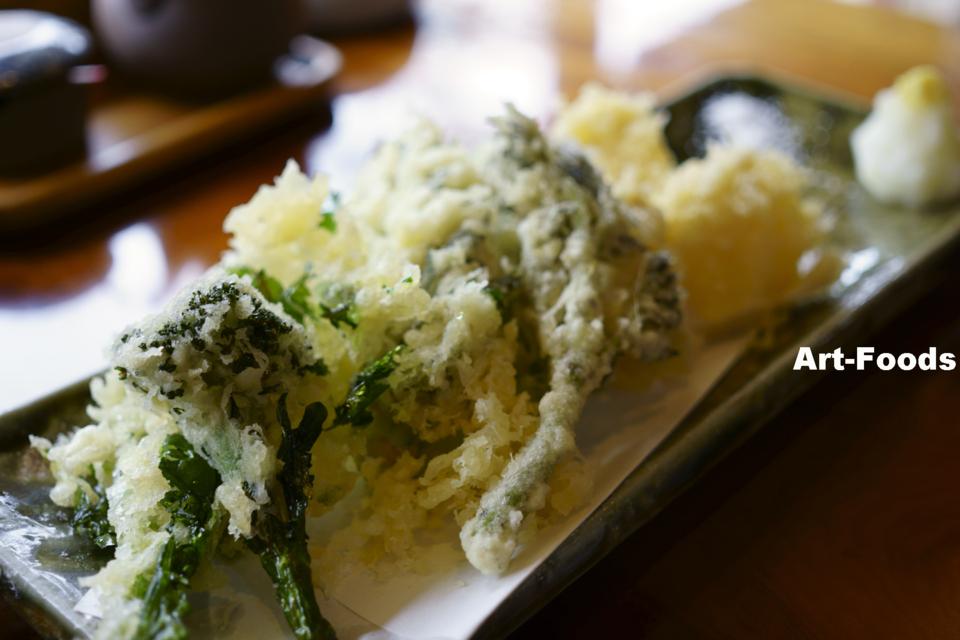 春野菜の天ぷら@玉川_140420