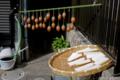 大根と柿の天日干し_141104