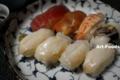 貝がいっぱいの握り寿司_141110