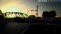 通勤の富士川橋午前七時一分気温零度_141224