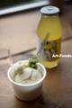 豆乳ジェラートおろしワサビ添え_150903