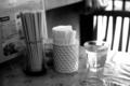 三芳食堂のテーブル_170115