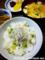 豆ご飯の朝食_170515