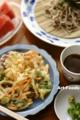 野菜天ざる_170709