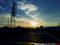 逆光線西陽の帰路_171027
