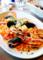 海の幸いろいろ入りトマトソーススパゲティ_171230