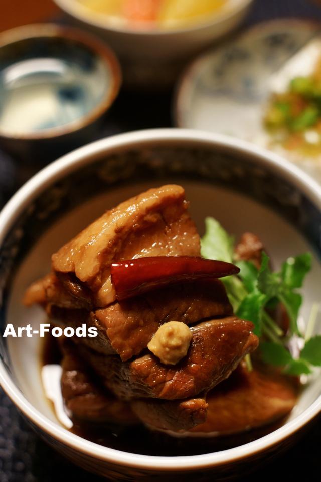 豚バラ肉の角煮_180102