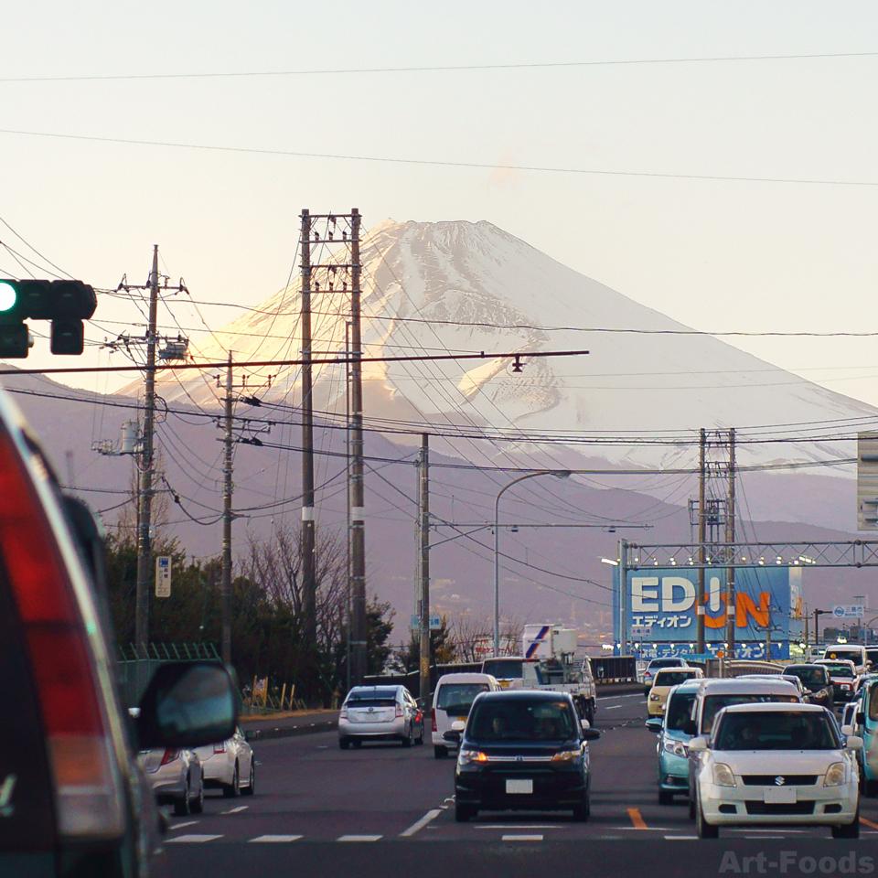 まちなか富士山@函南_180207_1705