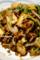 豆苗と厚揚げの挽肉味噌炒め_180315
