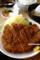 とんかつ味丸のロースカツジャンボ定食_180318