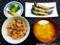 カニだし味噌汁と赤飯の昼食_180504