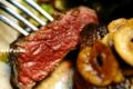 レアで食すハネシタのステーキ_180525