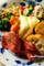 ローストビーフとチーズのワンプレート_180601