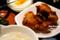 野菜炒め定食の鶏唐揚@福源_180727