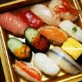 母上誕生日のお寿司_180801
