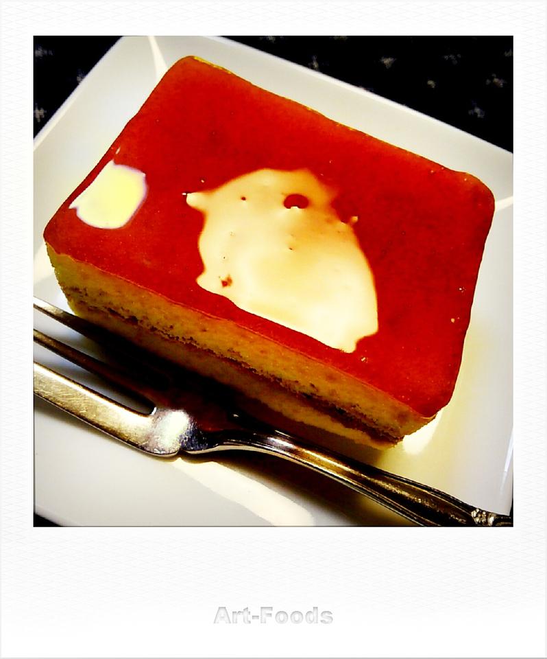 カラメルソースのケーキ_180918