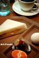 喫茶ヴァリエーションのモーニングサービス_181209