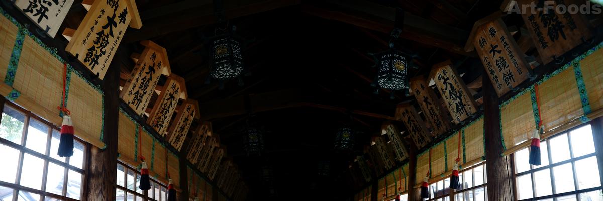 尾張大國霊神社拝殿内_190317