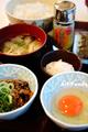 すき家の朝食玉子かけご飯_190330