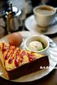 珈琲庵のエッグトーストモーニング_190407
