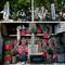 龍泉寺入口の仏像群と馬頭観音_190512