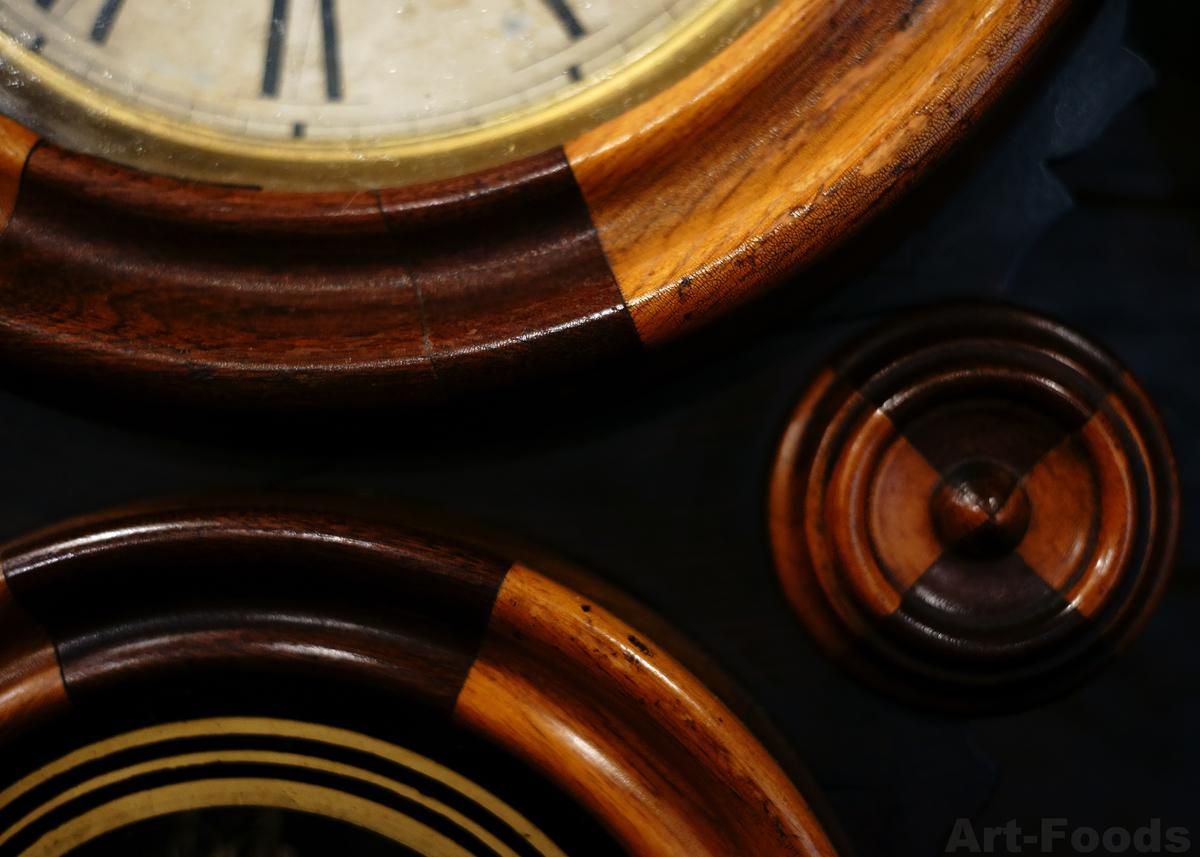 なつかし珈房古時計のアメリカ製古時計_190518