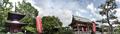 萬徳寺多宝塔と本堂_190519