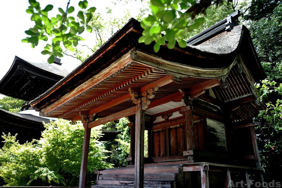 萬徳寺重要文化財鎮守堂_190519
