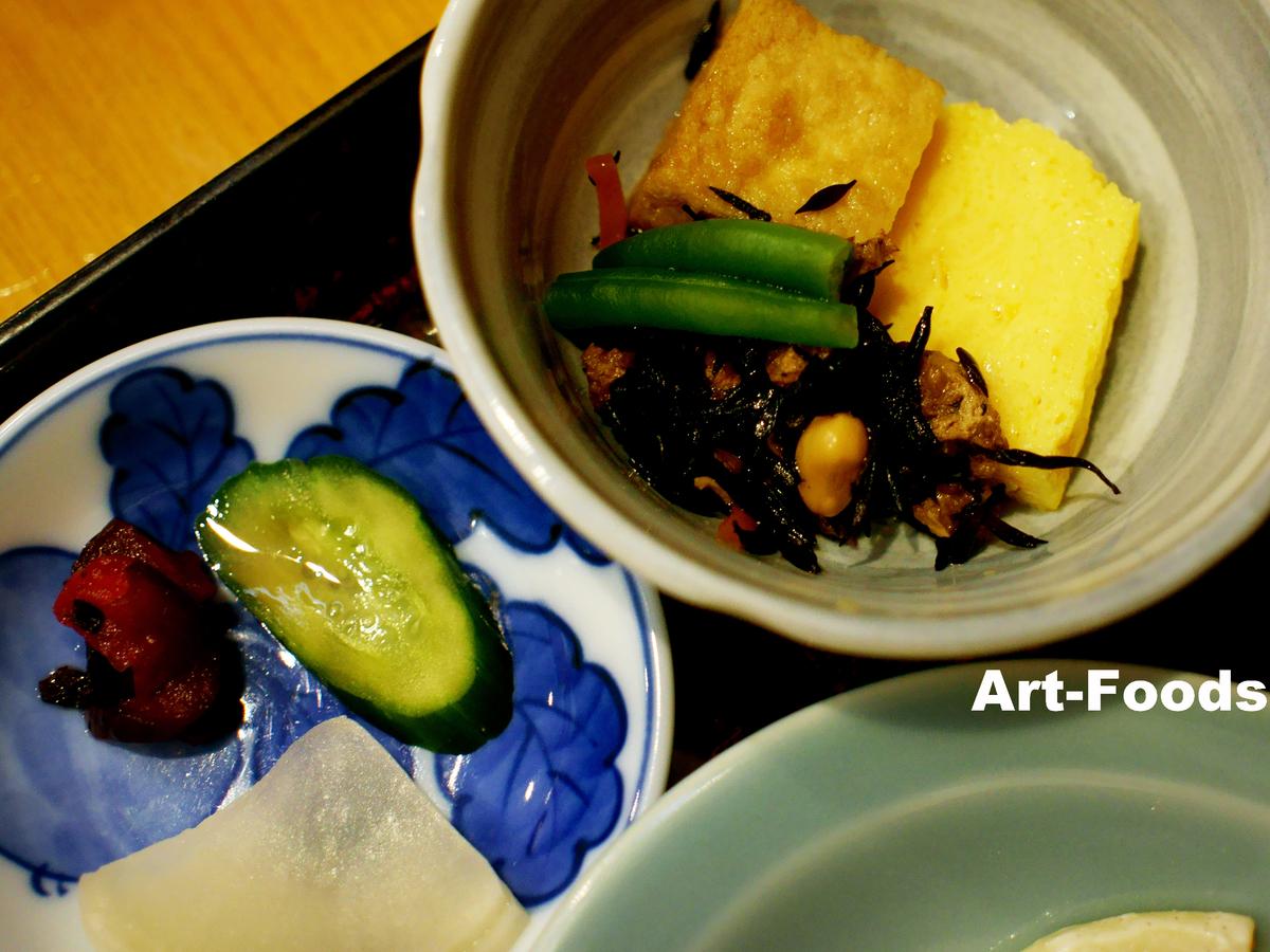うなぎ松岡の味噌かつ定食副菜_190531