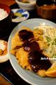 うなぎ松岡の味噌かつ定食_190531