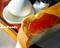喫茶のぶモーニングサービスのイチゴジャム_190601