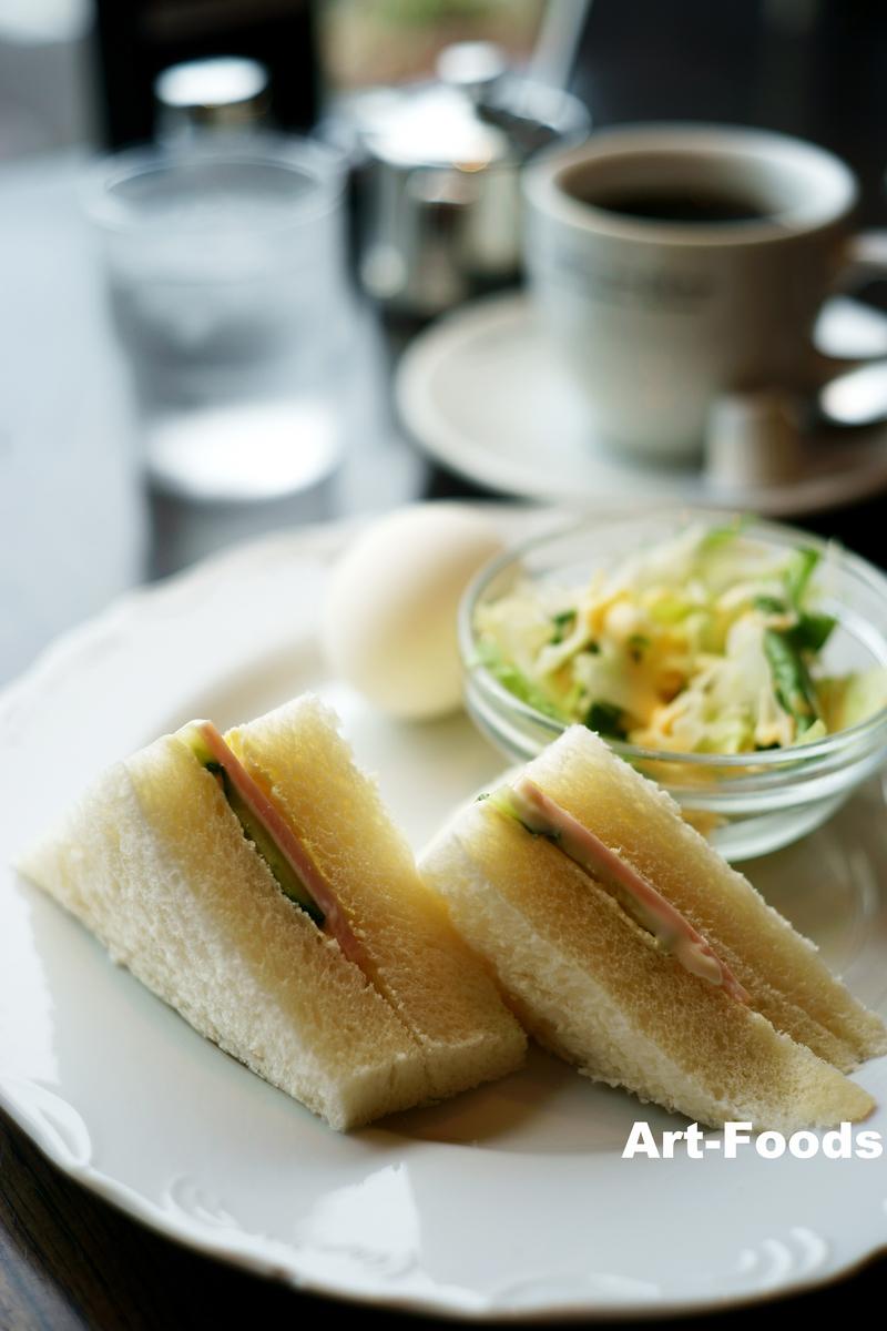 KURO-Cafeのモーニングサービス_190607