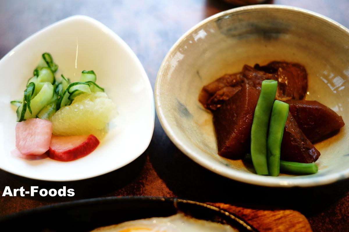 喫茶まん 焼肉定食 副菜_190607