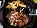 焼肉やよい和牛ロースステーキ定食_190616
