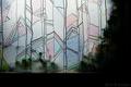 喫茶バンの窓ガラス_191124