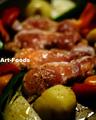 チキンと野菜のホットプレート焼_200122