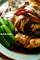 真鯛アラ煮とスナップエンドウ_200423