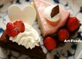 マロニエ洋菓子店のケーキ_200428
