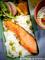 豆ご飯と焼鮭のお弁当_200512