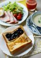朝食は甘いトースト_200613