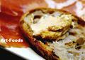 北欧田舎パンに酒粕チーズ_200622
